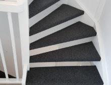Tapijt op open trappen