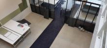 Kantoor met tapijt