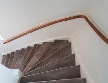 PVC stroken op trap